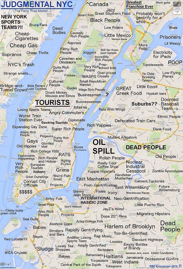 mapa alternativo