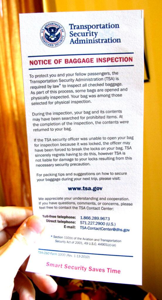 Cadeado TSA