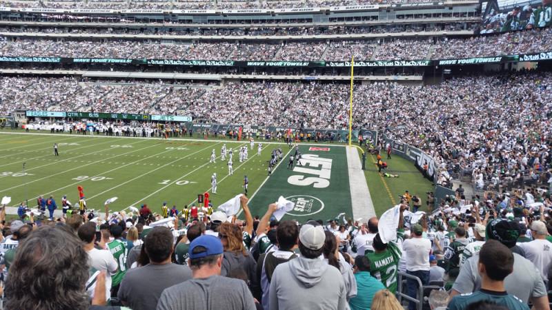 f44feb61d Futebol Americano (NFL)  Como assistir um jogo do New York Jets ...