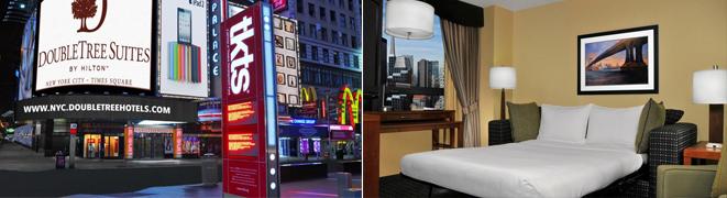 hospedagem na região da Times Square