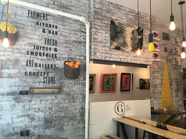 Galeria - Art, Food & Drinks