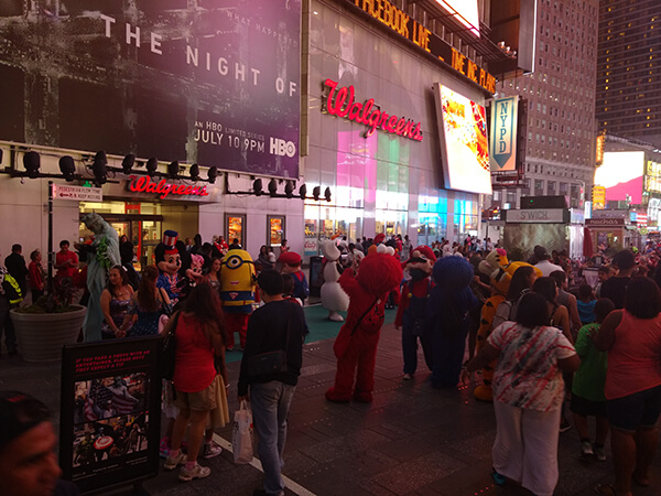 times square restricao