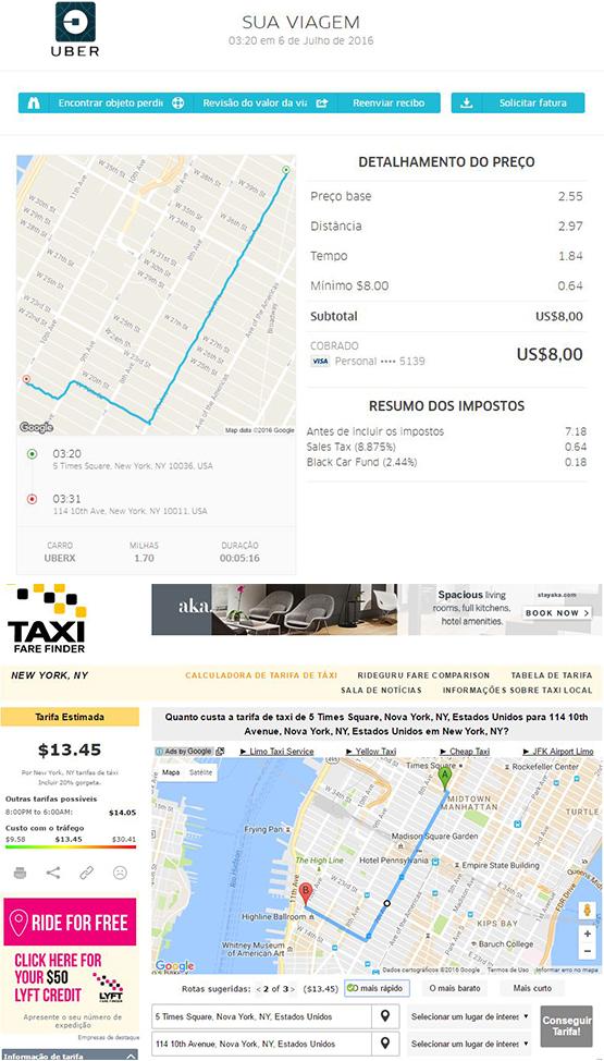 uber nova york