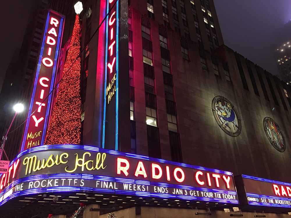 radio city music spectacular