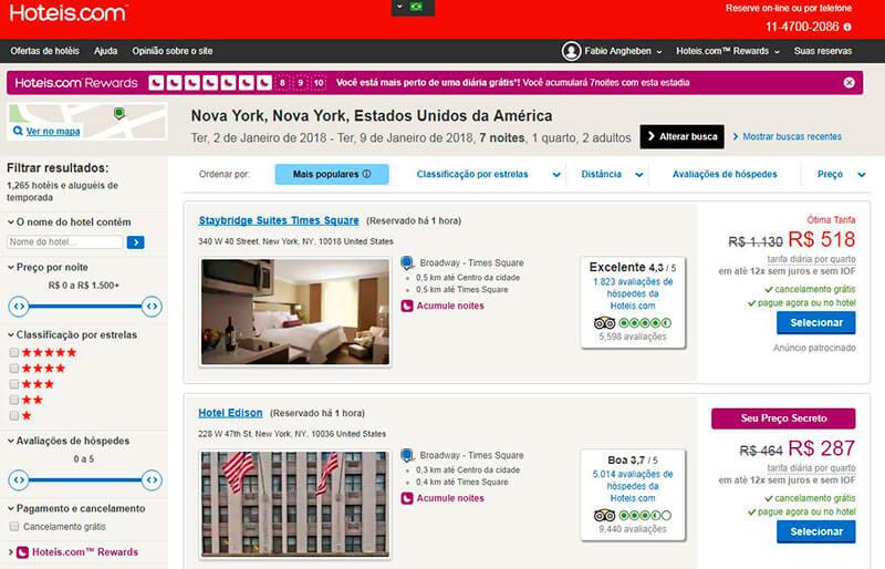 hotel em nova york