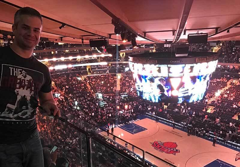 basquete em nova york