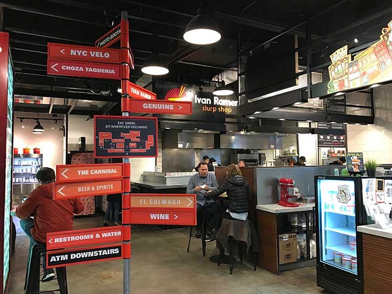 food halls em nova york