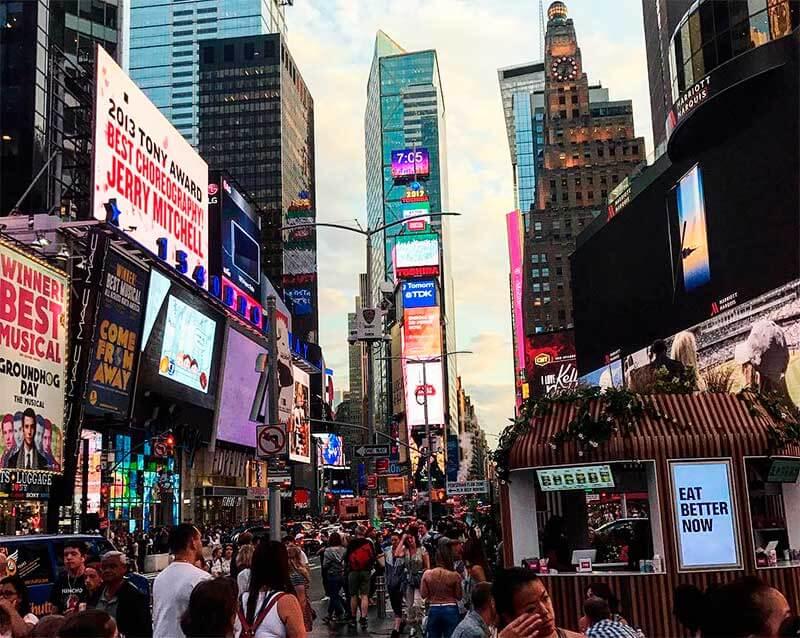 Fuso horário de Nova York