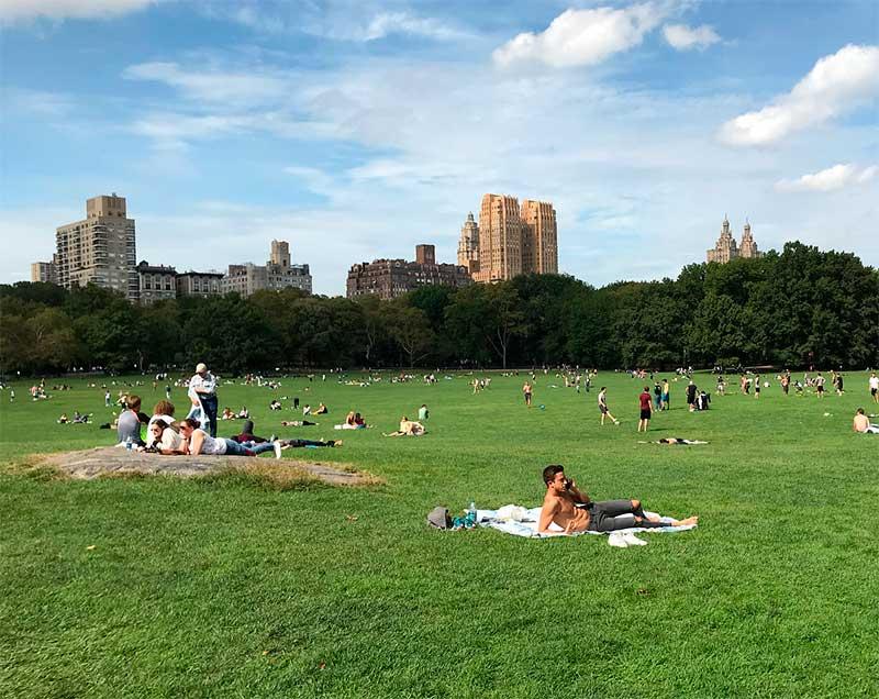verão em nova york