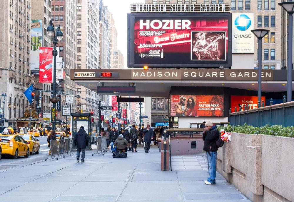 Madison Square Garden Em Nova York Informa Oes E