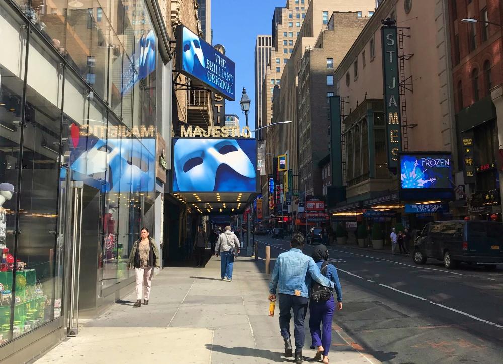 musicais da broadway em nova york