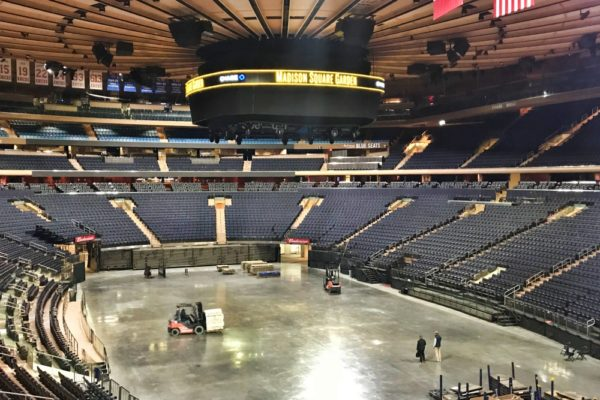 madison square garden all access
