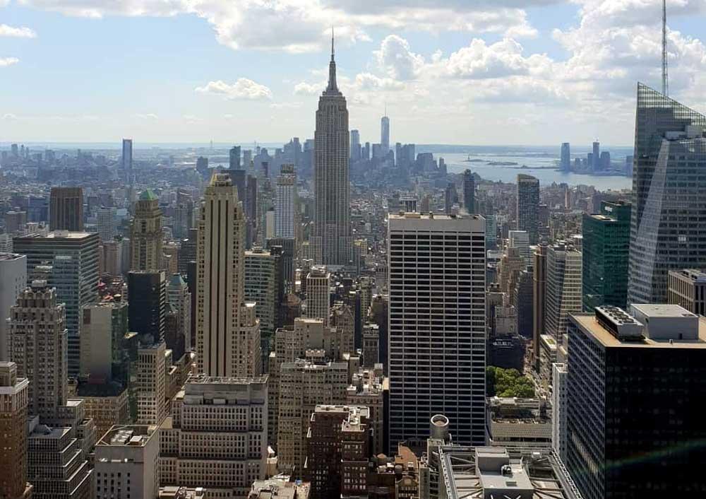 melhor observatório em nova york