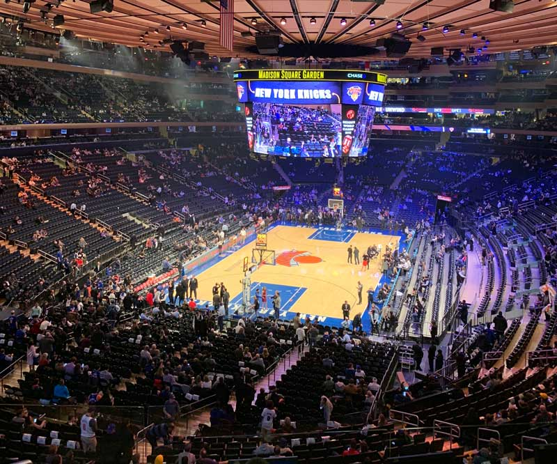 ingressos para o new york knicks
