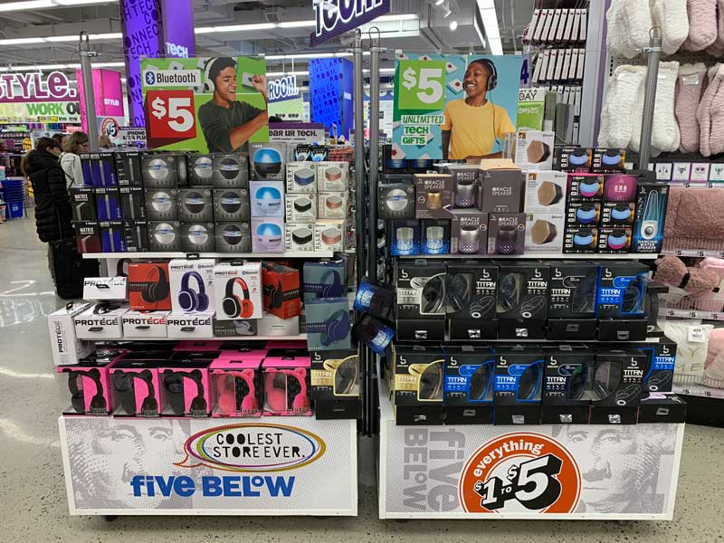 five below em nova york