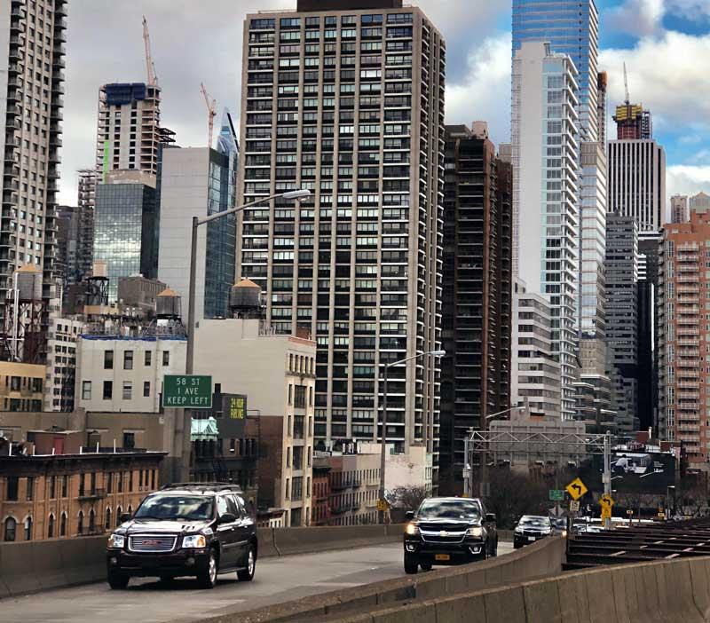 alugar um carro em nova york