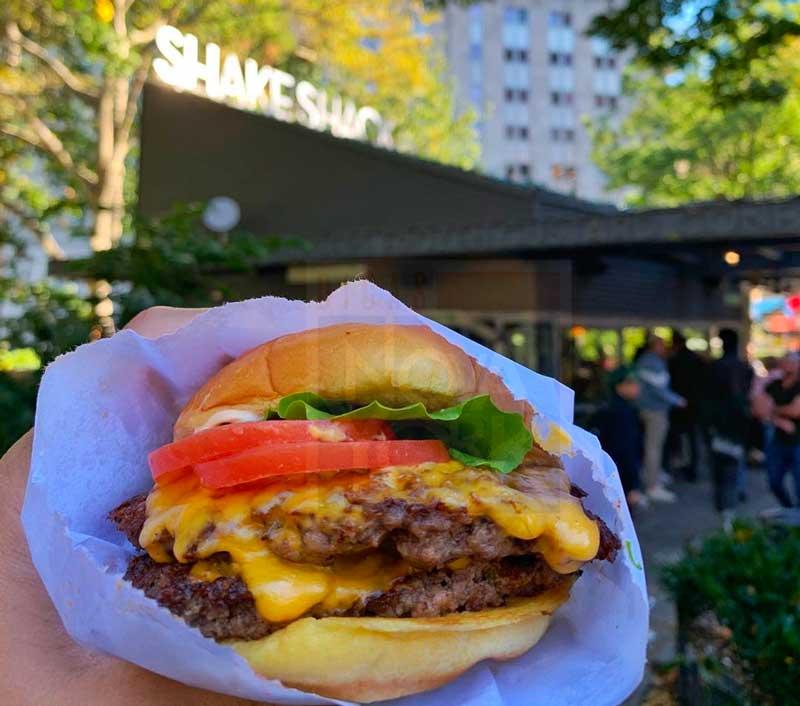 hambúrguer em nova york
