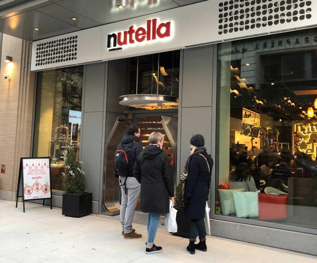 nutella cafe em nova york