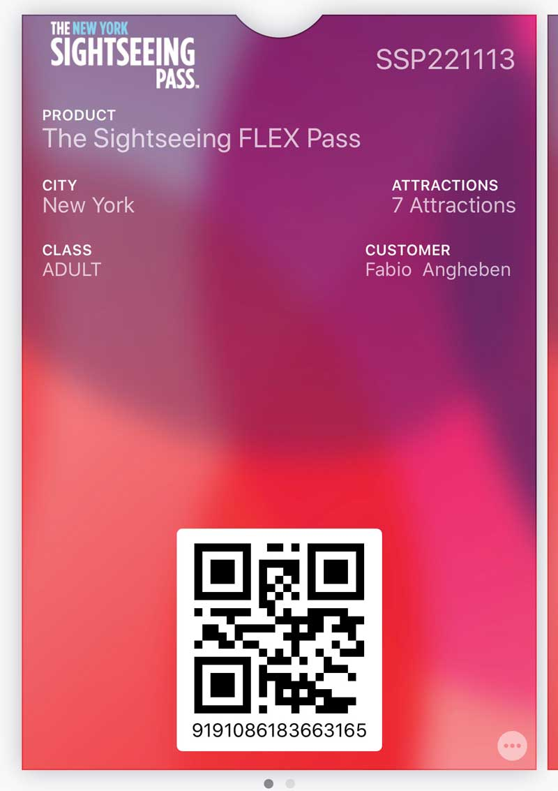 sightseeing flex pass