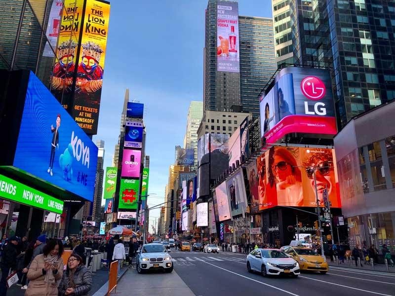 passeios a pé em nova york