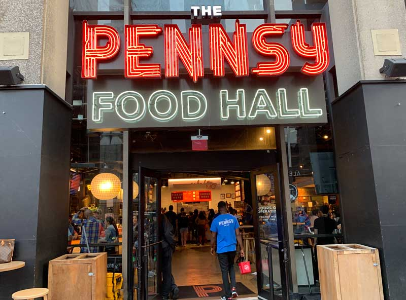 the pennsy food hall