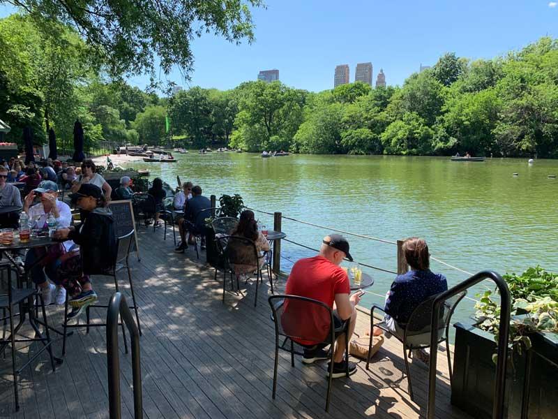 restaurante no central park