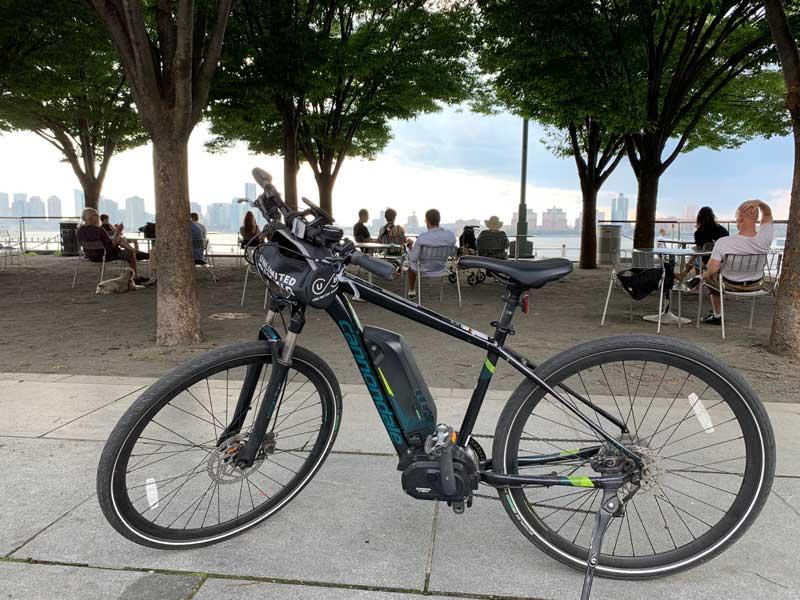 bicicleta em nova york