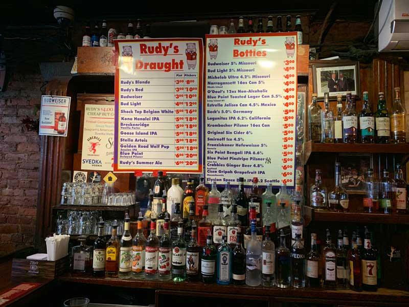 rudy's bar