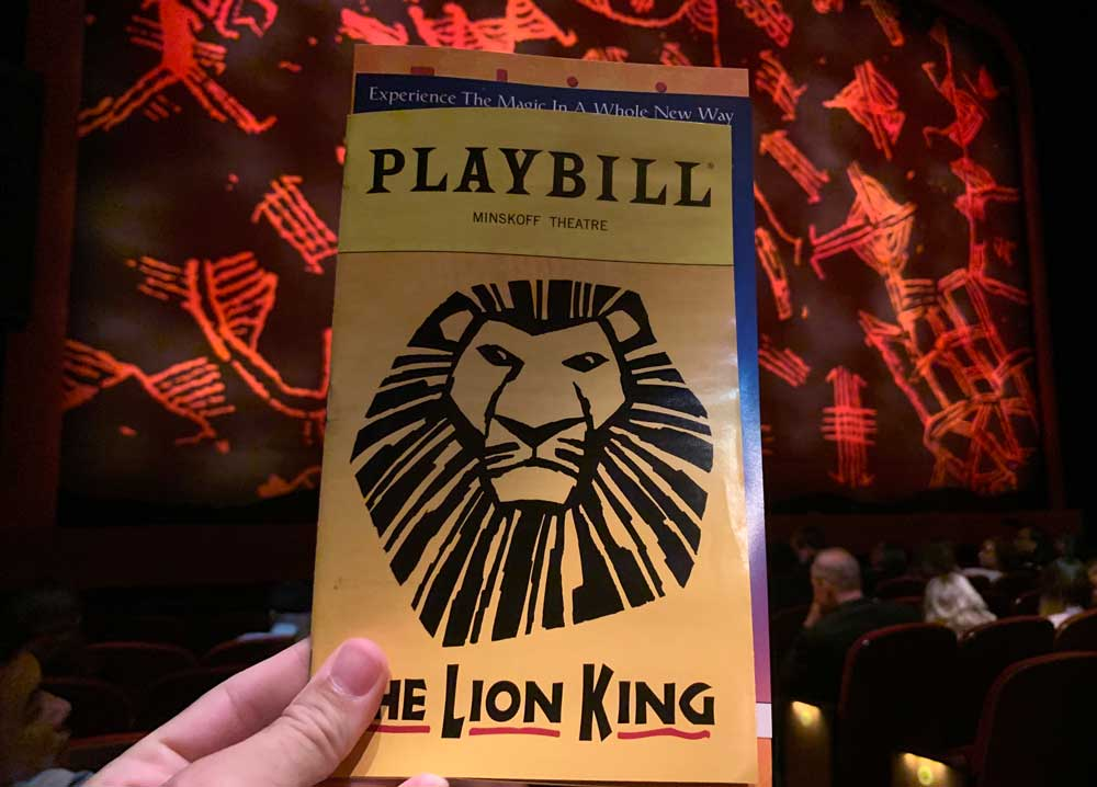 musical o rei leão