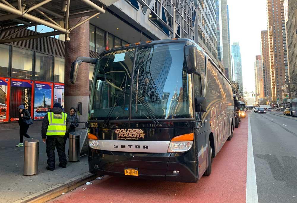 ônibus do aeroporto JFK