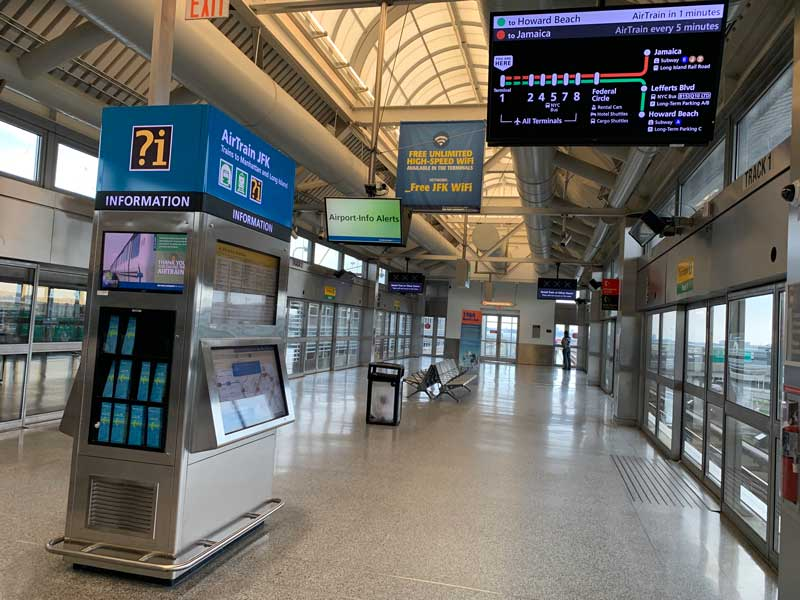 metro do aeroporto jfk